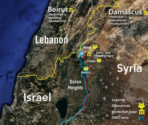BBC ignores revelation of Hizballah's Golan network