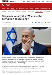 BBC interest in Israeli politicians' legal cases has its limits