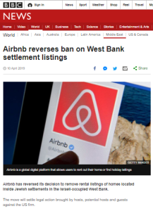 BBC News report on Airbnb backtrack follows usual recipe