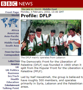 Fact checking the BBC's DFLP profile