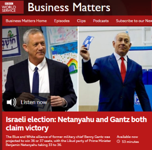 BBC WS 'Business Matters' sails close to antisemitic trope