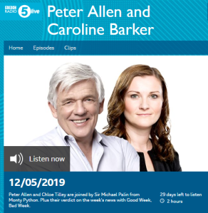 More Eurovision boycott promotion on BBC Radio 5 live