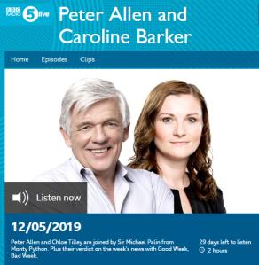 More Eurovision boycott promotion on BBC Radio 5 live