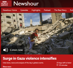 BBC WS radio's 'context': falsehoods about counter terrorism measures