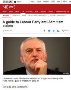 Another BBC antisemitism backgrounder promotes Livingstone Formulation