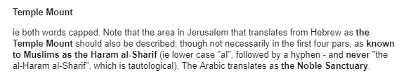 PLO terminology returns in BBC Jerusalem Day report
