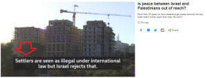 Summary of BBC News website portrayal of Israel and the Palestinians – June 2019