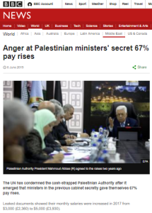 Reviewing BBC News website coverage of Palestinian affairs in 2019