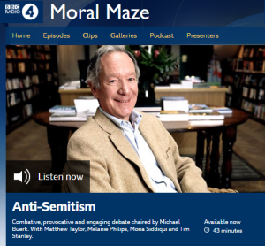 BBC Radio 4 again purports to explain antisemitism