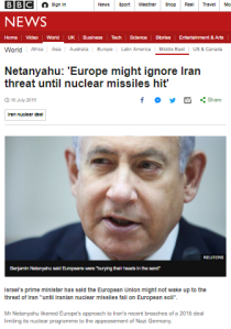 BBC News continues to parrot Iran's nuclear messaging