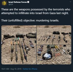BBC continues to yawn at Gaza border incidents