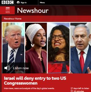 BBC WS radio listeners get Ashrawi's unchallenged propaganda