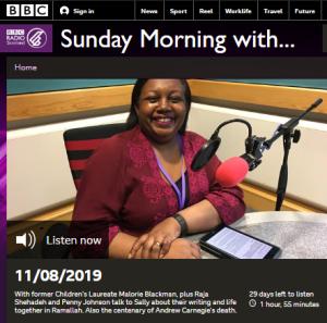 Sunday morning political propaganda on BBC Radio Scotland