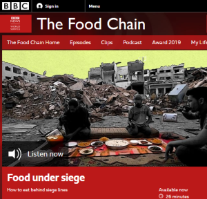 BBC WS food programme: inaccurate, lacks context and promotes Hamas propaganda