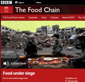 BBC WS radio corrects inaccurate claim of a 'siege' on the Gaza Strip