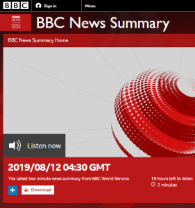 BBC WS radio news confuses audiences with politicised terminology