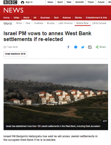 The BBC's double standards on annexation