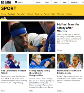 BBC Sport reports the outcome of a story it ignored last month