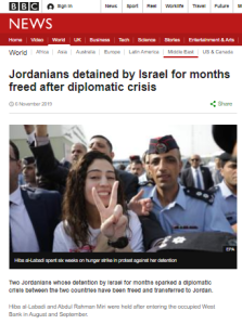 BBC News gives a partial portrayal of administrative detention