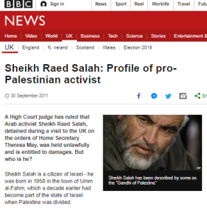 BBC ignores conviction of man it portrayed in 2011 as 'the Gandhi of Palestine'
