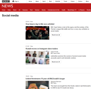 BBC ignores Twitter's terror groups suspensions
