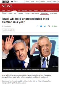 BBC News website kicks off 2020 election reporting