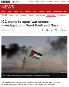Superficial and one-sided BBC reporting on ICC statement