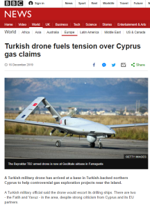 BBC News avoids the term 'occupation' in Cyprus gas report