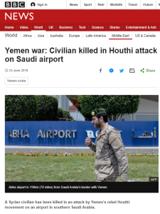 BBC mixed messaging on Iranian support for the Houthis persists