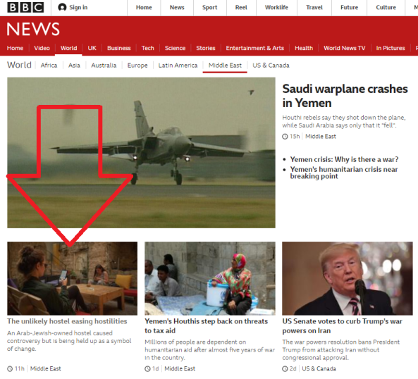 BBC News recycles a well-told Nazareth story