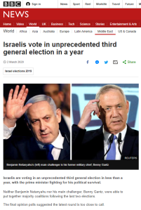 BBC News signposts Israeli political lists – except one