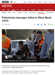 BBC News erases relevant background from report on Palestinian riot